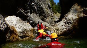 Canyoning-Salzbourg-Canyoning in the Strubklamm gorge near Salzburg, Austria-2