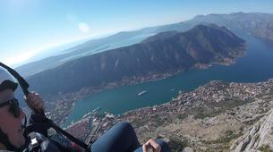 Paragliding-Budva-Tandem paragliding flight in the Kotor Bay, Montenegro-4