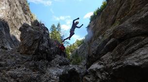 Canyoning-Salzbourg-Canyoning in the Strubklamm gorge near Salzburg, Austria-1