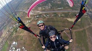 Paragliding-Saint-Leu-Tandem paragliding flight over the lagoon of Saint Leu, Reunion Island-3