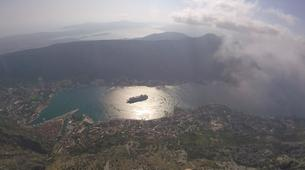 Paragliding-Budva-Tandem paragliding flight in the Kotor Bay, Montenegro-2