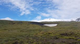 Hiking / Trekking-Reykjavik-Hiking the Great Eyjafjallajökull Volcano, Seljavellir-6