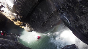 Canyoning-Sion-Canyoning in the Swiss Alps on the Morges-3