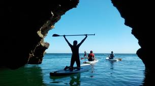 Stand Up Paddle-Lagos-SUP excursion in the Algarve Caves near Lagos-1