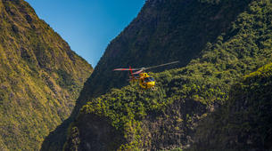 Helicopter tours-Saint-Pierre-Helicopter Flight over the Cirques and Volcanoes of Reunion Island-5