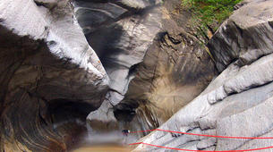 Canyoning-Sion-Canyoning in the Swiss Alps on the Morges-4