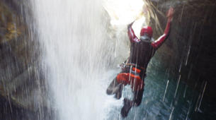 Canyoning-Sion-Canyoning in the Swiss Alps on the Morges-6