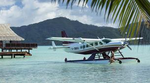 Vols Panoramiques-Bora Bora-Découverte de Taha'a en hydravion depuis Bora Bora-1