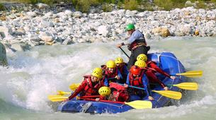 Rafting-Sion-Rafting adventure on the Dranse in the Alps between France and Switzerland-5