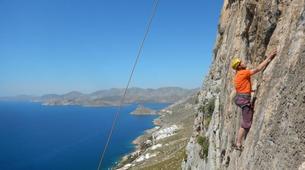 Rock climbing-Kalymnos-Kalymnos Intermediate Climbing Course-1
