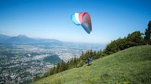Paragliding-Salzburg-Tandem Paragliding near Salzburg, Austria-1