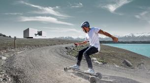 Skateboarding-Annecy-Randonnée skate électrique sur les bords du lac d'Annecy-1