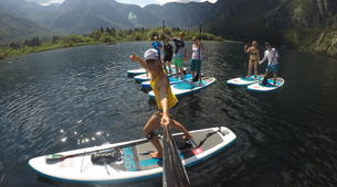 Stand Up Paddle-Bohinj-Unique Alpine SUP Tour on Lake Bohinj, Slovenia-5
