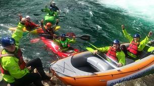 Kayaking-Voss-Tandem River Kayaking in Voss-3