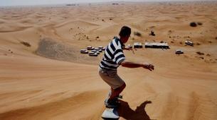Quad biking-Dubai-Sunset Dune Buggy & Sand Boarding Package in Dubai-7