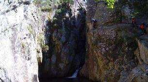 Canyoning-Pyrénées Orientales-Canyoning dans les Gorges du Cady-3