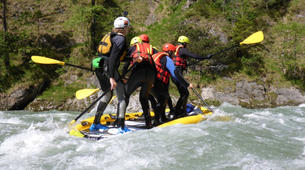 Stand Up Paddle-Salzbourg-Supsquatch on the Salzach, Austria-1