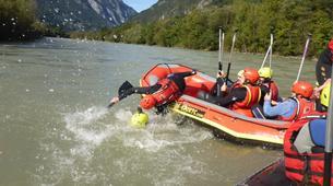 Rafting-Salzbourg-Fun Rafting on the river Salzach in Schwarzach near Salzburg, Austria-4