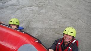 Rafting-Salzbourg-Fun Rafting on the river Salzach in Schwarzach near Salzburg, Austria-3