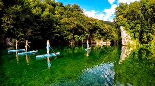 Stand Up Paddle-Bovec-Unique SUP Tour in the Soca Valley, Slovenia-1