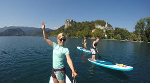 Stand up Paddle-Bled-Unique SUP Tour on Lake Bled, Slovenia-3