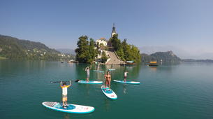 Stand up Paddle-Bled-Unique SUP Tour on Lake Bled, Slovenia-1