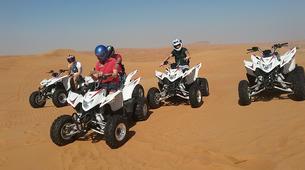 4x4-Dubai-Sunset Safari, Quad Biking & Sand Boarding Package in Dubai-1