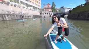 Stand Up Paddle-Ljubljana-Urban Adventure SUP Tour in Ljubljana, Slovenia-4
