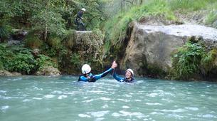 Canyoning-Annecy-Canyon du Pont du Diable, Bellecombes-en-Bauges-4