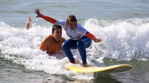 Surf-Vilamoura-Surfing Lessons on Falesia Beach in the Algarve-1