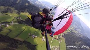 Parapente-Salzbourg-Tandem Paragliding flight over Werfenweng-2
