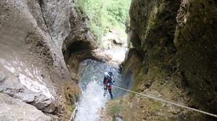Canyoning-Annecy-Le canyon de la Mine près d'Annecy-1