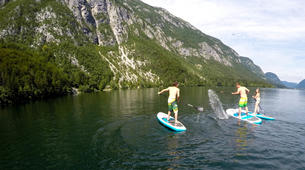 Stand Up Paddle-Bohinj-Unique Alpine SUP Tour on Lake Bohinj, Slovenia-1