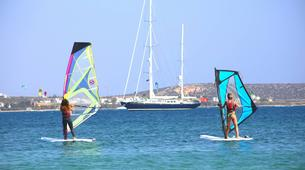 Windsurf-Antiparos-Windsurfing & SUP & Yoga lesson in Antiparos, Greece-5