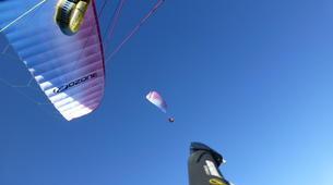 Parapente-Salzbourg-Tandem Paragliding flight over Werfenweng-5
