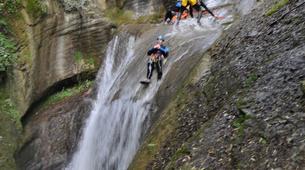 Canyoning-Annecy-Canyoning du Pont du Diable près d'Aix-les-Bains-1