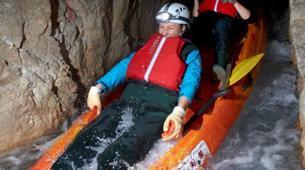 Canoë-kayak-Bled-Underground Black Hole Kayaking Experience from Bled, Slovenia-5