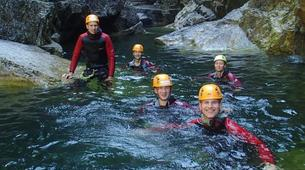 Canyoning-Salzburg-Canyoning Tour at the Almbachklamm near Salzburg-4