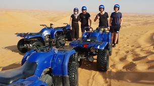 Quad biking-Dubai-Sunset Quad Biking & Sand Boarding Package in Dubai-4