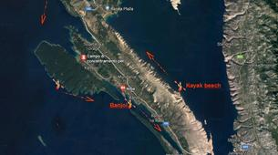 Kayak de mer-Rab-4-day Kayaking Trip around Rab Island-4