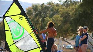 Windsurf-Antiparos-Windsurfing & SUP & Yoga lesson in Antiparos, Greece-3