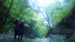 Canyoning-Annecy-Canyon d'Angon à Talloires, près d'Annecy-3
