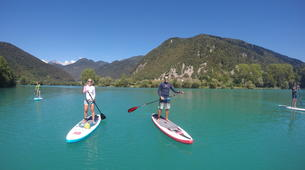 Stand Up Paddle-Bovec-Unique SUP Tour in the Soca Valley, Slovenia-3