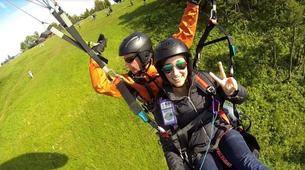 Paragliding-Salzburg-Tandem Paragliding near Salzburg, Austria-3