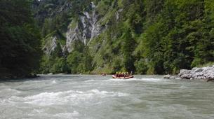 Rafting-Salzbourg-Fun Rafting on the river Salzach in Schwarzach near Salzburg, Austria-2
