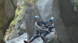 Canyoning-Pyrénées Orientales-Canyoning dans les Gorges du Cady-6