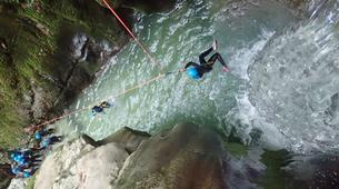 Canyoning-Grenoble-5 Days MTB and Canyoning Course near Grenoble-6