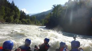 Rafting-Imst-Action Rafting auf der Inn, Österreich-3