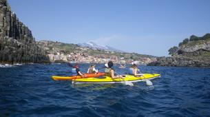 Sea Kayaking-Catania-Guided Kayak Tour along the Coast of Catania-1