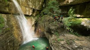 Canyoning-Arco-Canyon Rio Nero near Lake Garda-1